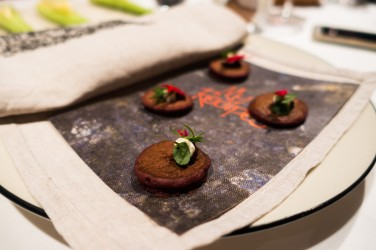 Wallaby blood pikelet