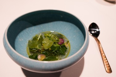 Aromatic Ripponlea broth