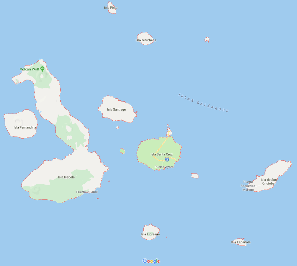 Galapagos map 2